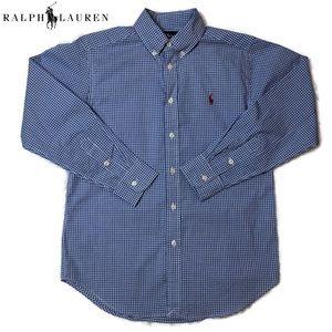 Polo Ralph Lauren's blue checkered button-down